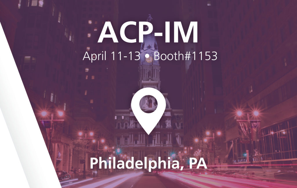 ACP-IM Show - booth#1153 in Philadelphia, PA