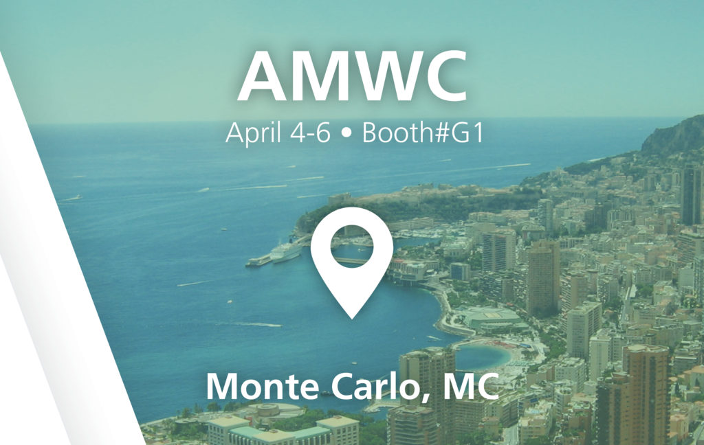 AMWC Show - Booth#G1 in Monte Carlo, MC
