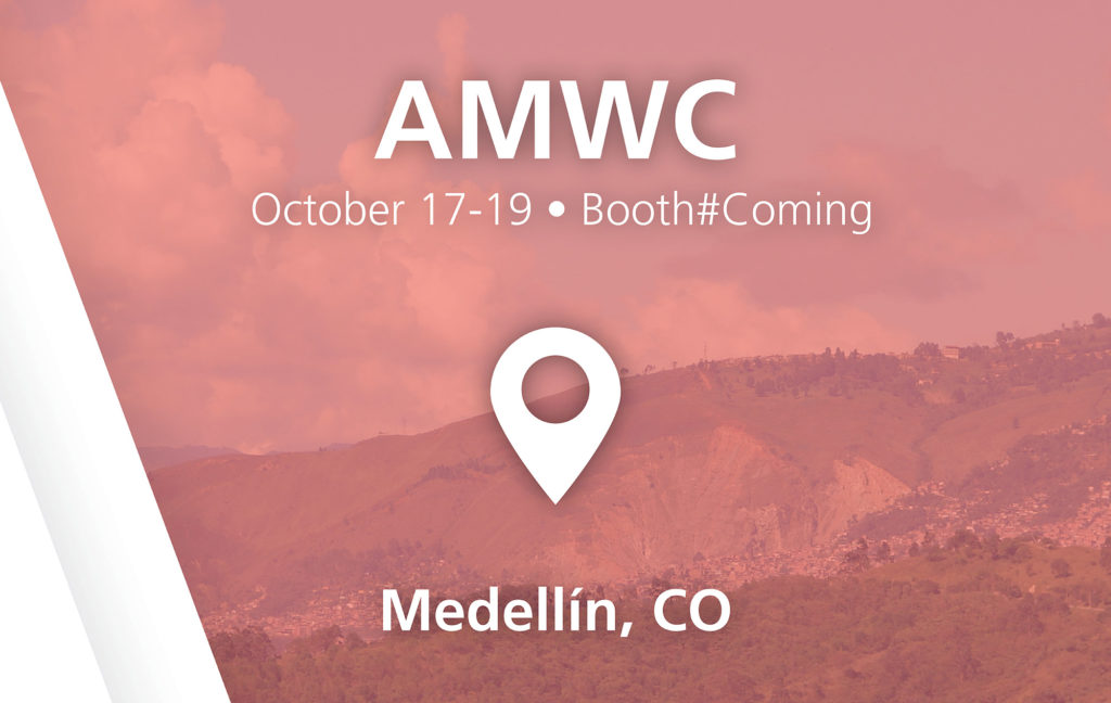 AMWC show in Medellin, CO - October 17-19