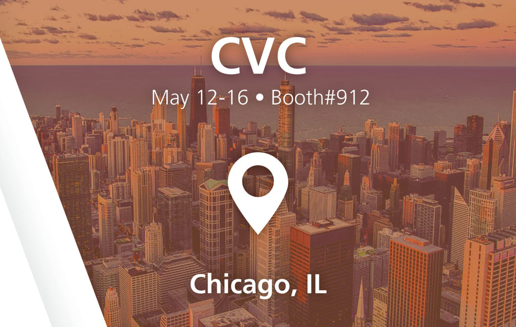 CVC - booth#912 in Chicago, IL - May 12-16
