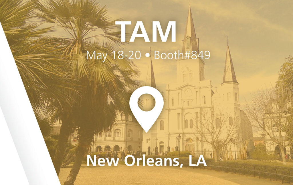 TAM show - booth#849 in New Orleans, LA