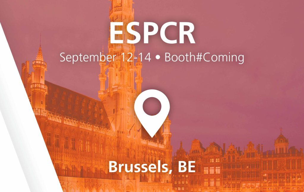 ESPCR show - September 12-14 in Brussels, BE